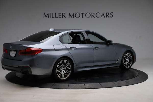 Used 2018 BMW 5 Series M550i xDrive for sale $49,900 at Aston Martin of Greenwich in Greenwich CT 06830 8