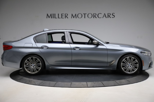 Used 2018 BMW 5 Series M550i xDrive for sale $49,900 at Aston Martin of Greenwich in Greenwich CT 06830 9