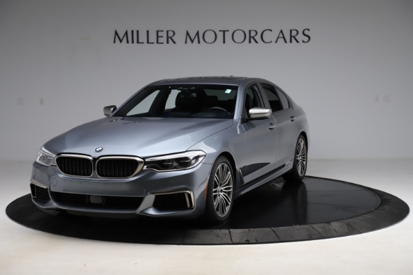 Used 2018 BMW 5 Series M550i xDrive for sale $49,900 at Aston Martin of Greenwich in Greenwich CT 06830 1