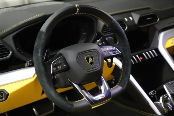 Used 2019 Lamborghini Urus for sale Call for price at Aston Martin of Greenwich in Greenwich CT 06830 16