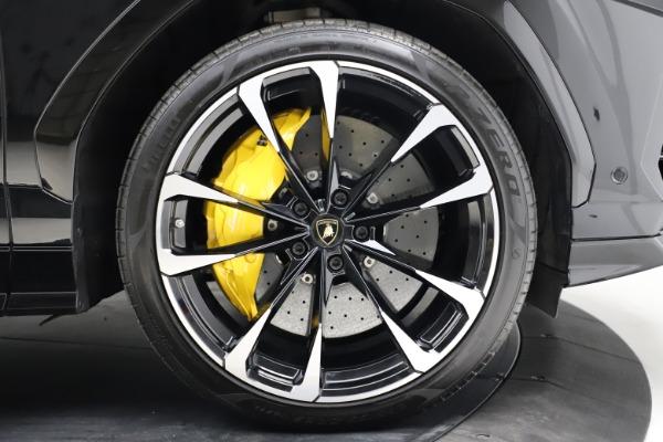 Used 2019 Lamborghini Urus for sale Call for price at Aston Martin of Greenwich in Greenwich CT 06830 27