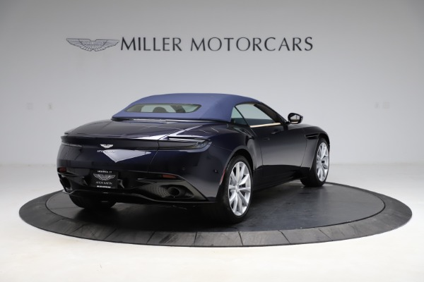New 2021 Aston Martin DB11 Volante for sale Sold at Aston Martin of Greenwich in Greenwich CT 06830 25