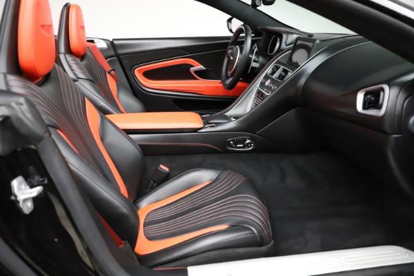 Used 2019 Aston Martin DB11 Volante Volante for sale $204,900 at Aston Martin of Greenwich in Greenwich CT 06830 21