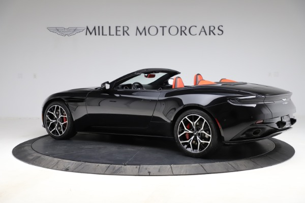 Used 2019 Aston Martin DB11 Volante for sale Sold at Aston Martin of Greenwich in Greenwich CT 06830 3