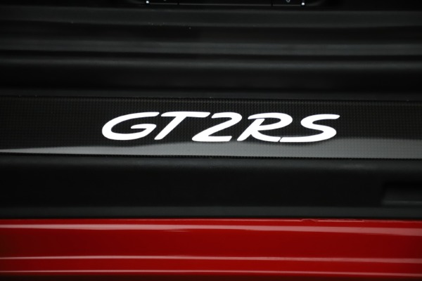 Used 2018 Porsche 911 GT2 RS for sale $325,900 at Aston Martin of Greenwich in Greenwich CT 06830 24