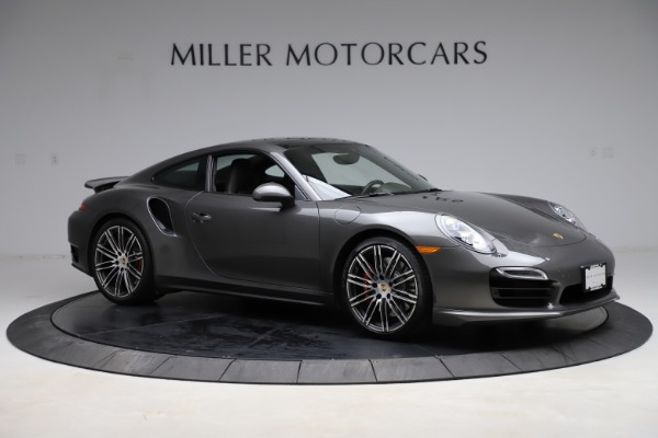 Used 2015 Porsche 911 Turbo for sale $109,900 at Aston Martin of Greenwich in Greenwich CT 06830 10