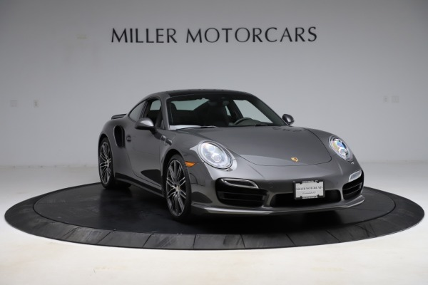 Used 2015 Porsche 911 Turbo for sale $109,900 at Aston Martin of Greenwich in Greenwich CT 06830 11