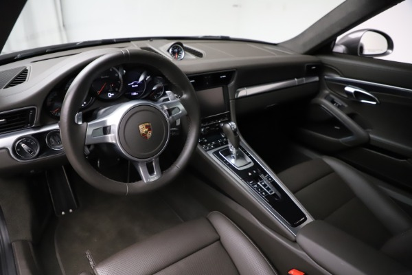 Used 2015 Porsche 911 Turbo for sale $109,900 at Aston Martin of Greenwich in Greenwich CT 06830 13