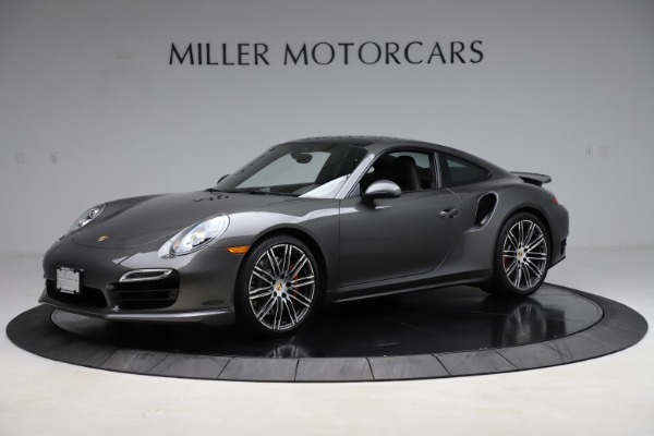 Used 2015 Porsche 911 Turbo for sale $109,900 at Aston Martin of Greenwich in Greenwich CT 06830 2