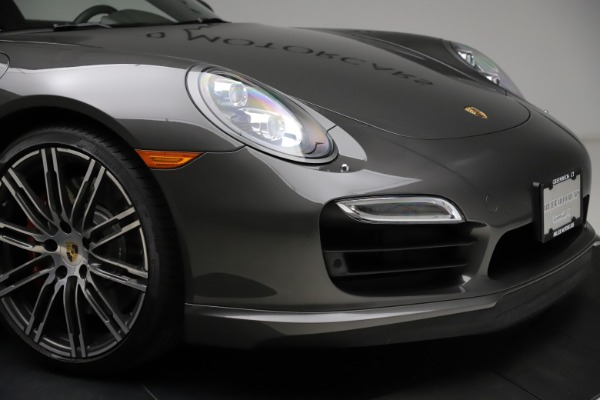 Used 2015 Porsche 911 Turbo for sale $109,900 at Aston Martin of Greenwich in Greenwich CT 06830 26