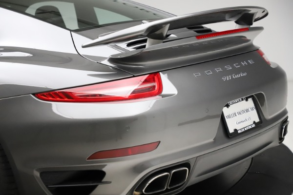 Used 2015 Porsche 911 Turbo for sale $109,900 at Aston Martin of Greenwich in Greenwich CT 06830 27