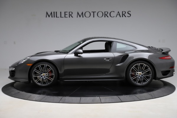 Used 2015 Porsche 911 Turbo for sale $109,900 at Aston Martin of Greenwich in Greenwich CT 06830 3