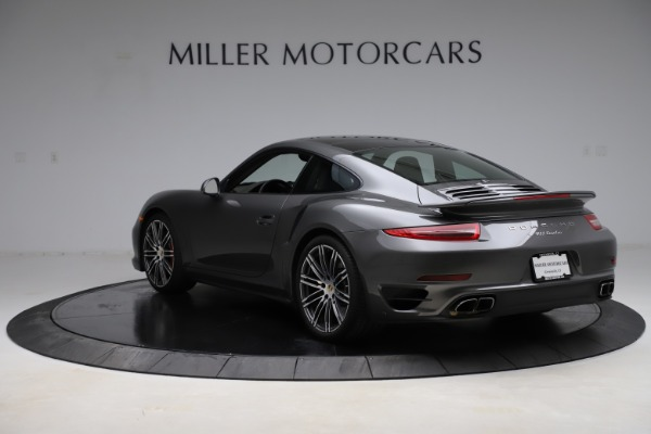 Used 2015 Porsche 911 Turbo for sale $109,900 at Aston Martin of Greenwich in Greenwich CT 06830 5