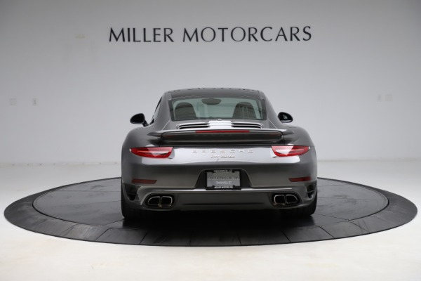Used 2015 Porsche 911 Turbo for sale $109,900 at Aston Martin of Greenwich in Greenwich CT 06830 6