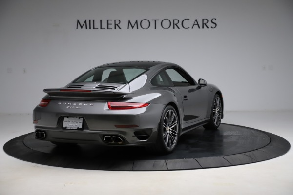 Used 2015 Porsche 911 Turbo for sale $109,900 at Aston Martin of Greenwich in Greenwich CT 06830 7