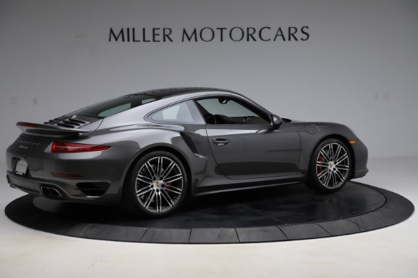 Used 2015 Porsche 911 Turbo for sale $109,900 at Aston Martin of Greenwich in Greenwich CT 06830 8