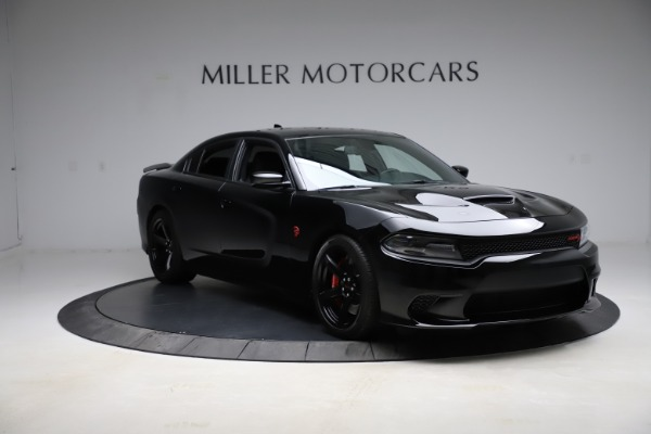 Used 2018 Dodge Charger SRT Hellcat for sale $59,900 at Aston Martin of Greenwich in Greenwich CT 06830 11