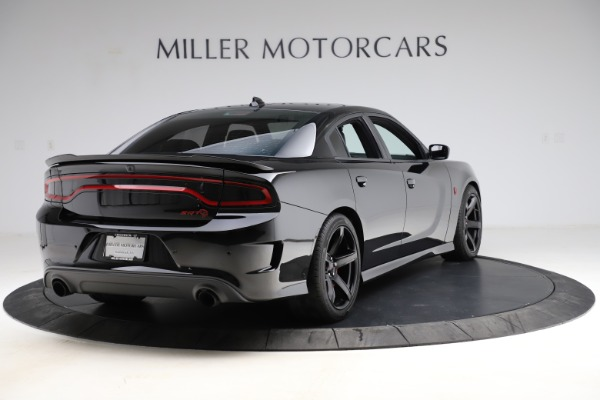 Used 2018 Dodge Charger SRT Hellcat for sale $59,900 at Aston Martin of Greenwich in Greenwich CT 06830 7