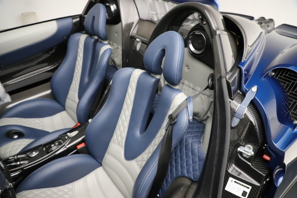 Used 2017 Pagani Huayra Roadster for sale Call for price at Aston Martin of Greenwich in Greenwich CT 06830 24