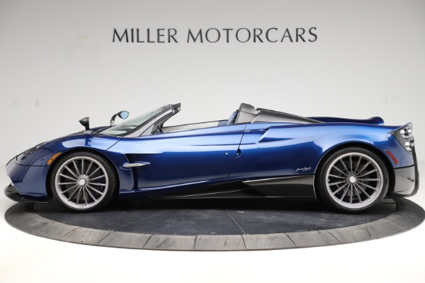 Used 2017 Pagani Huayra Roadster for sale Call for price at Aston Martin of Greenwich in Greenwich CT 06830 3