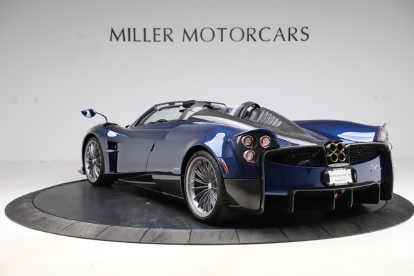 Used 2017 Pagani Huayra Roadster for sale Call for price at Aston Martin of Greenwich in Greenwich CT 06830 5