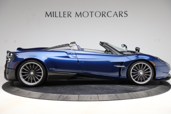 Used 2017 Pagani Huayra Roadster for sale Call for price at Aston Martin of Greenwich in Greenwich CT 06830 9