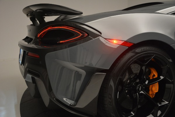Used 2019 McLaren 600LT Luxury for sale Sold at Aston Martin of Greenwich in Greenwich CT 06830 27