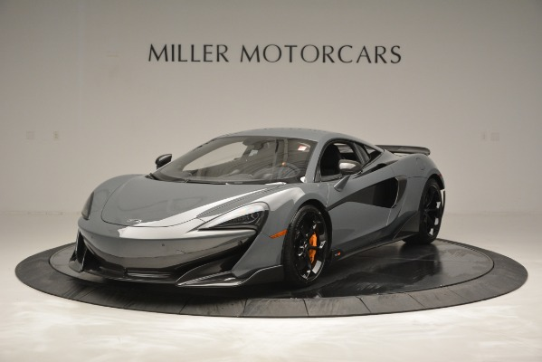 Used 2019 McLaren 600LT Luxury for sale Sold at Aston Martin of Greenwich in Greenwich CT 06830 1