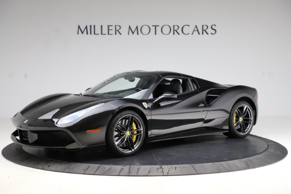 Used 2017 Ferrari 488 Spider for sale $284,900 at Aston Martin of Greenwich in Greenwich CT 06830 14