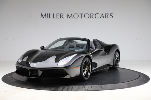 Used 2017 Ferrari 488 Spider for sale $284,900 at Aston Martin of Greenwich in Greenwich CT 06830 1