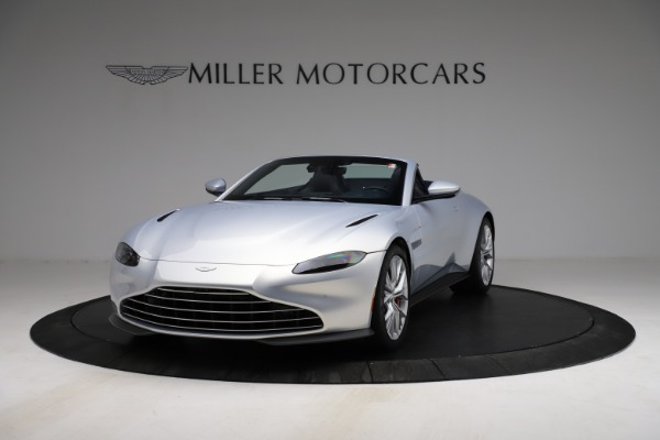 New 2021 Aston Martin Vantage Roadster for sale $184,286 at Aston Martin of Greenwich in Greenwich CT 06830 12