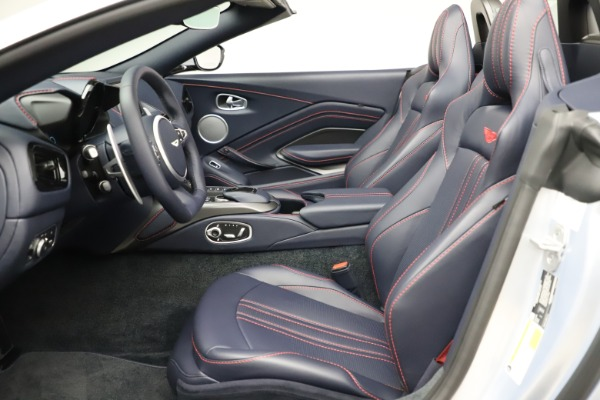 New 2021 Aston Martin Vantage Roadster for sale $184,286 at Aston Martin of Greenwich in Greenwich CT 06830 15