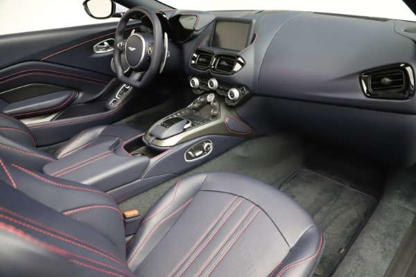 New 2021 Aston Martin Vantage Roadster for sale $184,286 at Aston Martin of Greenwich in Greenwich CT 06830 18