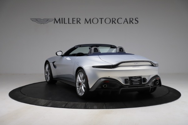New 2021 Aston Martin Vantage Roadster for sale $184,286 at Aston Martin of Greenwich in Greenwich CT 06830 4