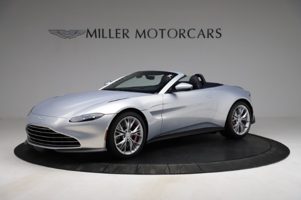 New 2021 Aston Martin Vantage Roadster for sale $184,286 at Aston Martin of Greenwich in Greenwich CT 06830 1