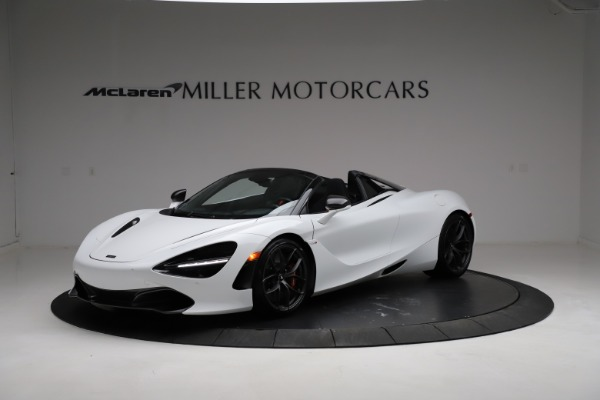 Used 2020 McLaren 720S Spider for sale Sold at Aston Martin of Greenwich in Greenwich CT 06830 1