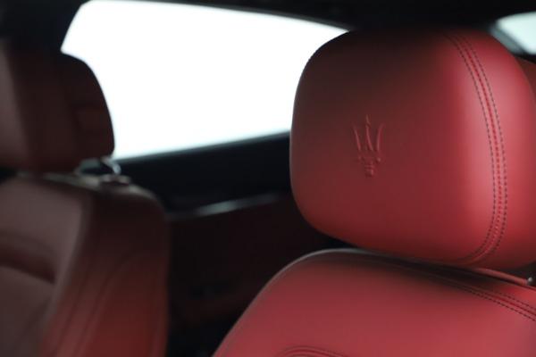 New 2021 Maserati Quattroporte S Q4 GranLusso for sale $122,349 at Aston Martin of Greenwich in Greenwich CT 06830 15