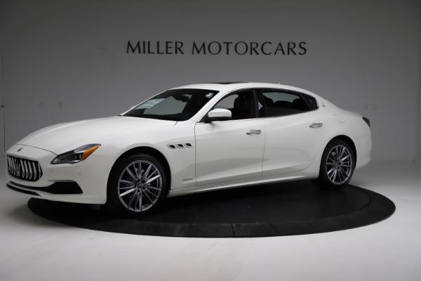 New 2021 Maserati Quattroporte S Q4 GranLusso for sale $122,349 at Aston Martin of Greenwich in Greenwich CT 06830 2