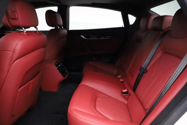 New 2021 Maserati Quattroporte S Q4 GranLusso for sale $122,349 at Aston Martin of Greenwich in Greenwich CT 06830 21