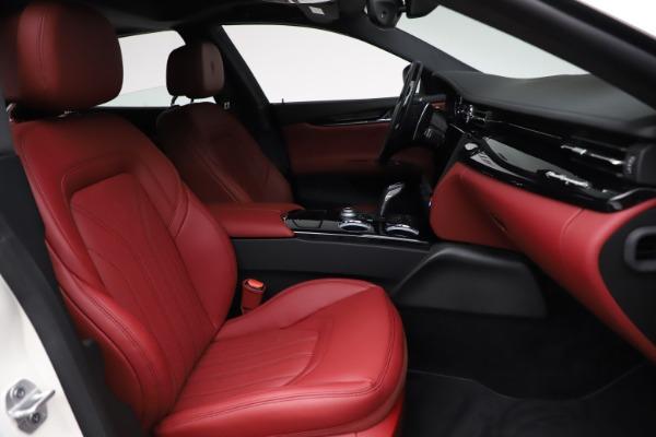 New 2021 Maserati Quattroporte S Q4 GranLusso for sale $122,349 at Aston Martin of Greenwich in Greenwich CT 06830 25