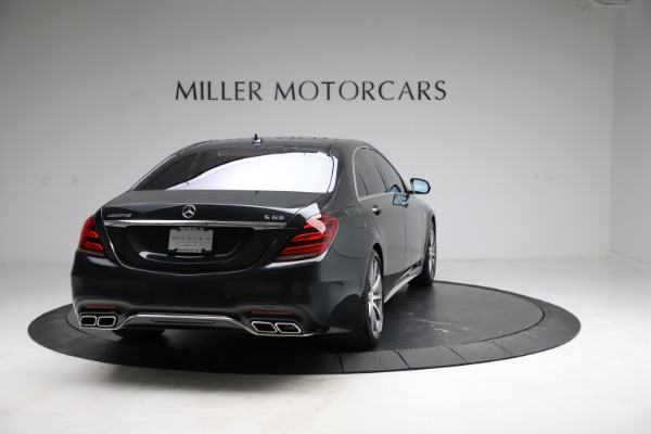 Used 2019 Mercedes-Benz S-Class AMG S 63 for sale $122,900 at Aston Martin of Greenwich in Greenwich CT 06830 10