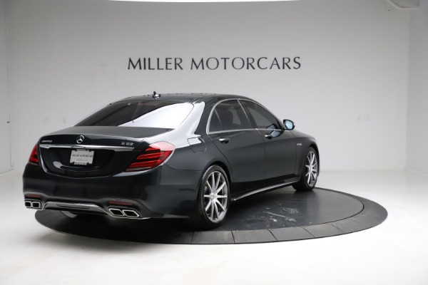 Used 2019 Mercedes-Benz S-Class AMG S 63 for sale $122,900 at Aston Martin of Greenwich in Greenwich CT 06830 11