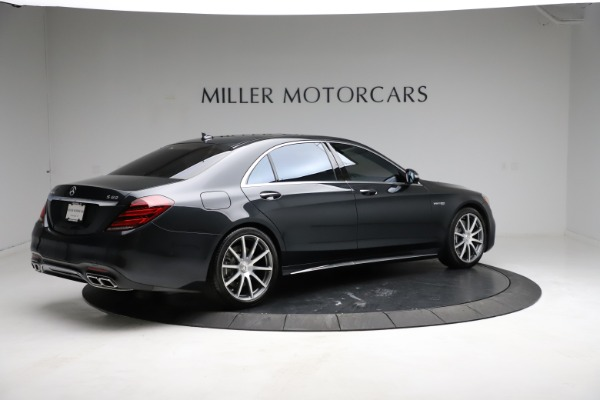 Used 2019 Mercedes-Benz S-Class AMG S 63 for sale $122,900 at Aston Martin of Greenwich in Greenwich CT 06830 12
