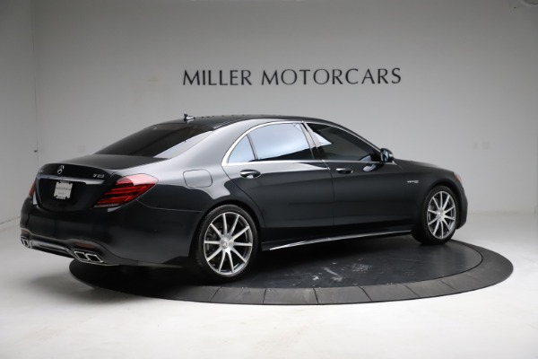 Used 2019 Mercedes-Benz S-Class AMG S 63 for sale $122,900 at Aston Martin of Greenwich in Greenwich CT 06830 13