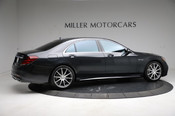 Used 2019 Mercedes-Benz S-Class AMG S 63 for sale $122,900 at Aston Martin of Greenwich in Greenwich CT 06830 14