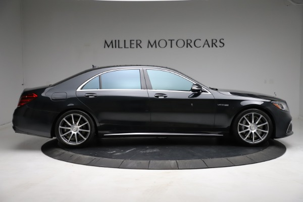 Used 2019 Mercedes-Benz S-Class AMG S 63 for sale $122,900 at Aston Martin of Greenwich in Greenwich CT 06830 15