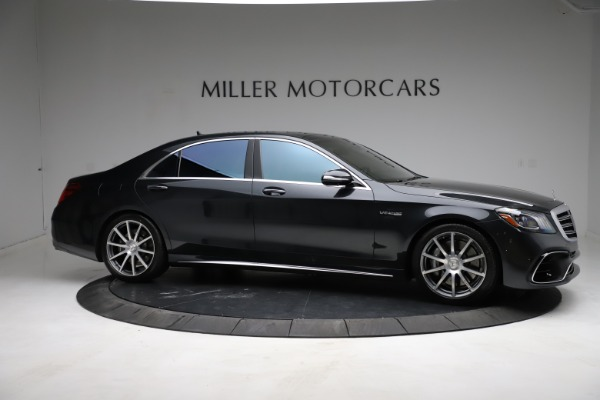 Used 2019 Mercedes-Benz S-Class AMG S 63 for sale $122,900 at Aston Martin of Greenwich in Greenwich CT 06830 16