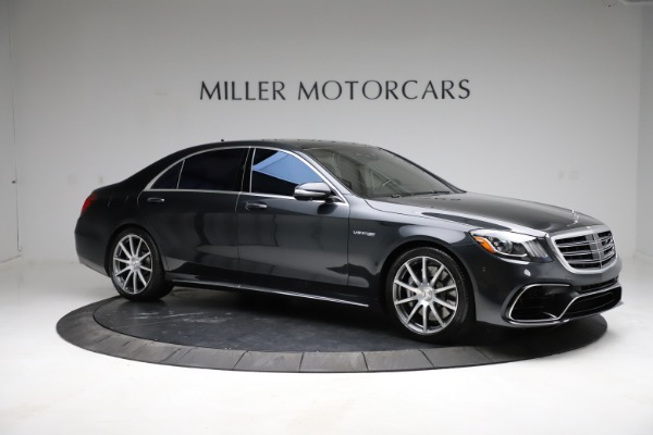 Used 2019 Mercedes-Benz S-Class AMG S 63 for sale $122,900 at Aston Martin of Greenwich in Greenwich CT 06830 18
