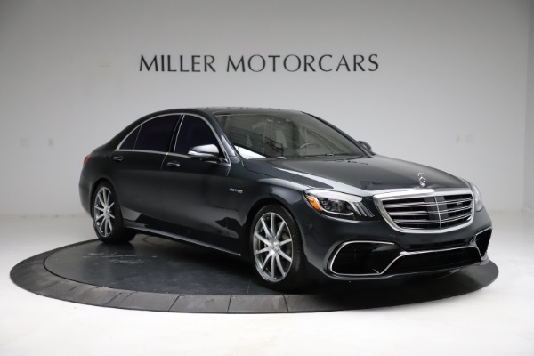 Used 2019 Mercedes-Benz S-Class AMG S 63 for sale $122,900 at Aston Martin of Greenwich in Greenwich CT 06830 19