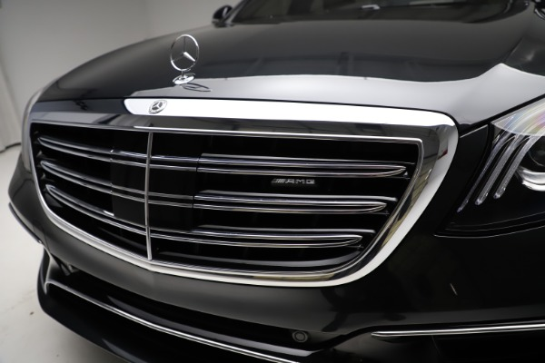 Used 2019 Mercedes-Benz S-Class AMG S 63 for sale $122,900 at Aston Martin of Greenwich in Greenwich CT 06830 23